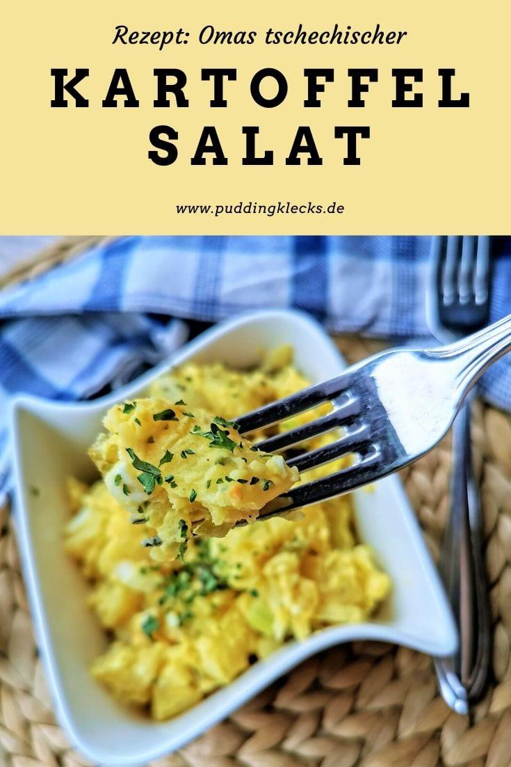 tschechischer Kartoffelsalat Rezept Pin