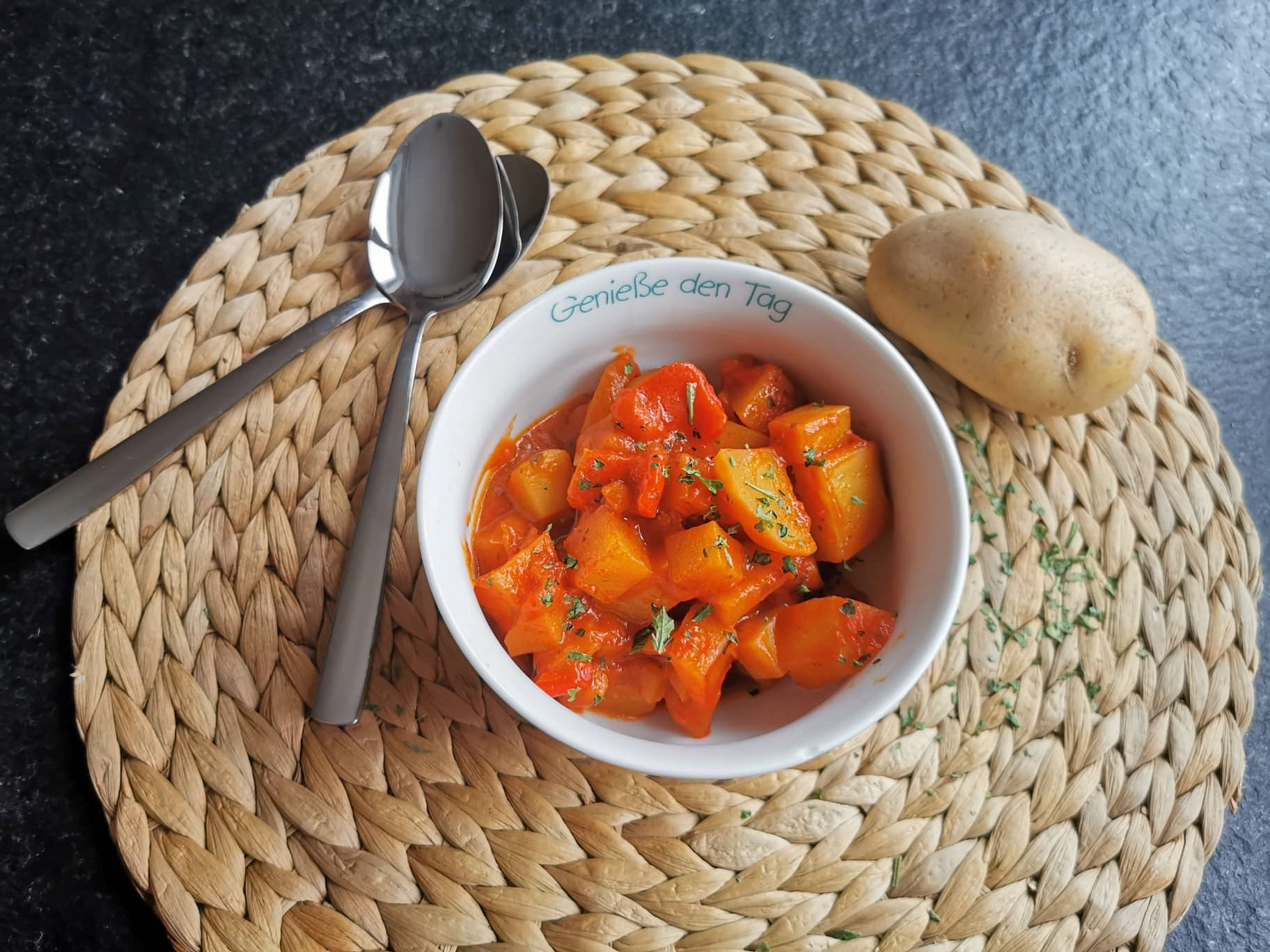 Kartoffelgulasch Rezept Titel