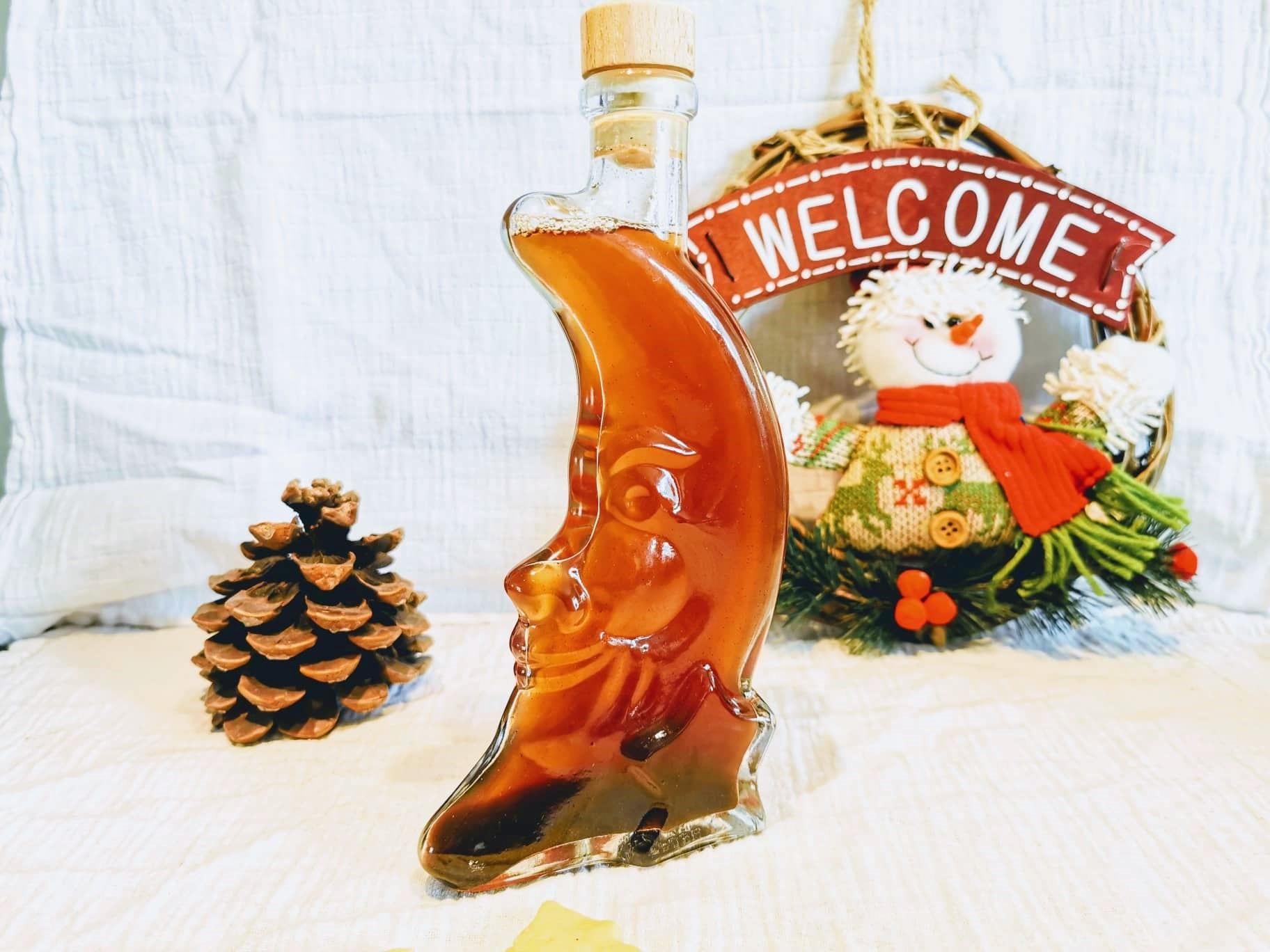 Weihnachten Weihnachtssirup Rezept Winter Geschenk