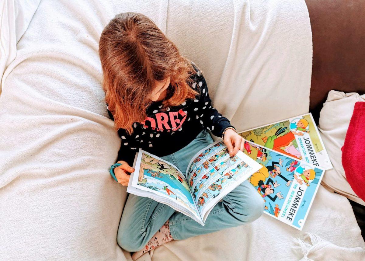 Jommeke Comics aus Belgien sind perfekt, um in Kindern das Lesefieber zu wecken. Warum und weshalb, das erkläre ich auf Puddingklecks