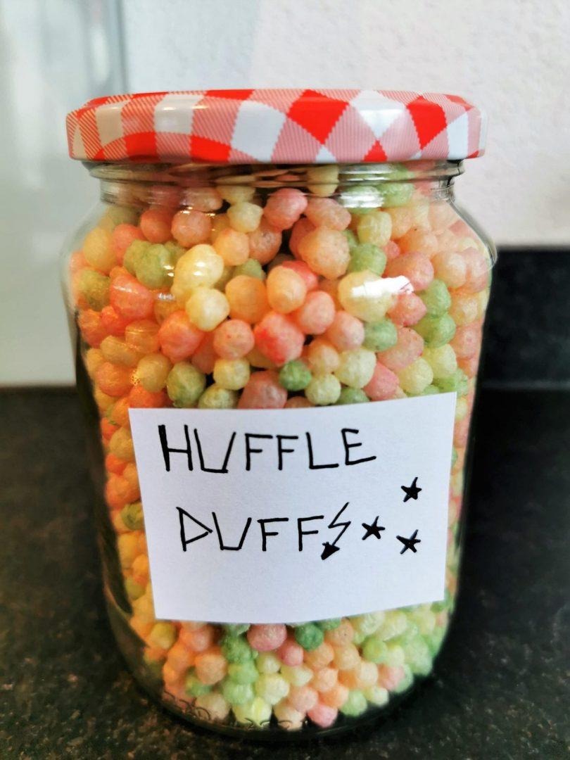 Puffreis als Snack für Hufflepuff Hogwarts Harry Potter