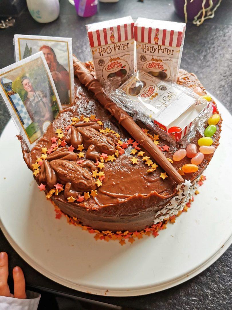 Harry Potter Geburtstagstorte
