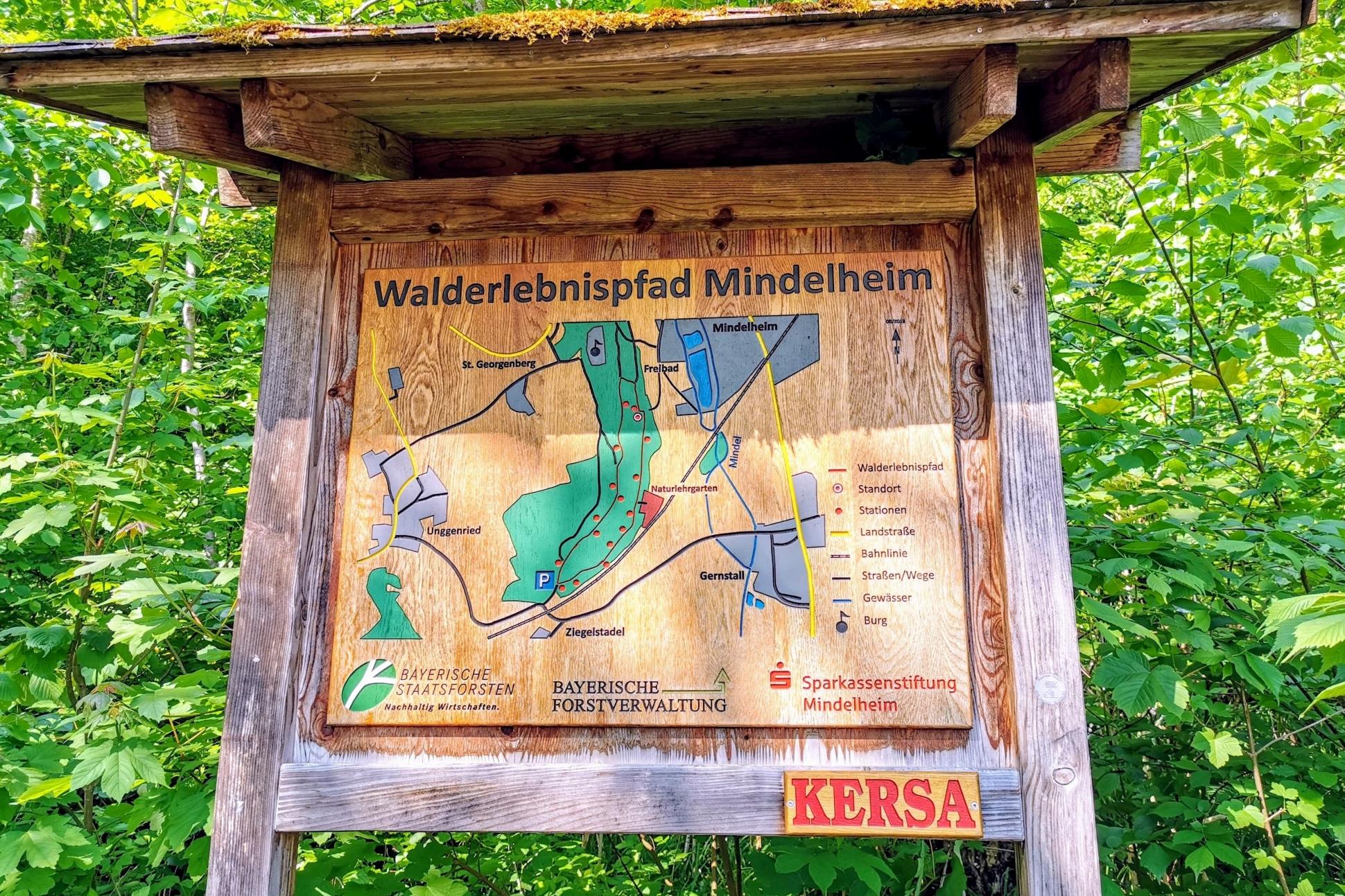 Der Walderlebnispfad Mindelheim bietet ein tolles Ausflugserlebnis für die ganze Familie. Ein kostenloses Erlebnis im Unterallgäu