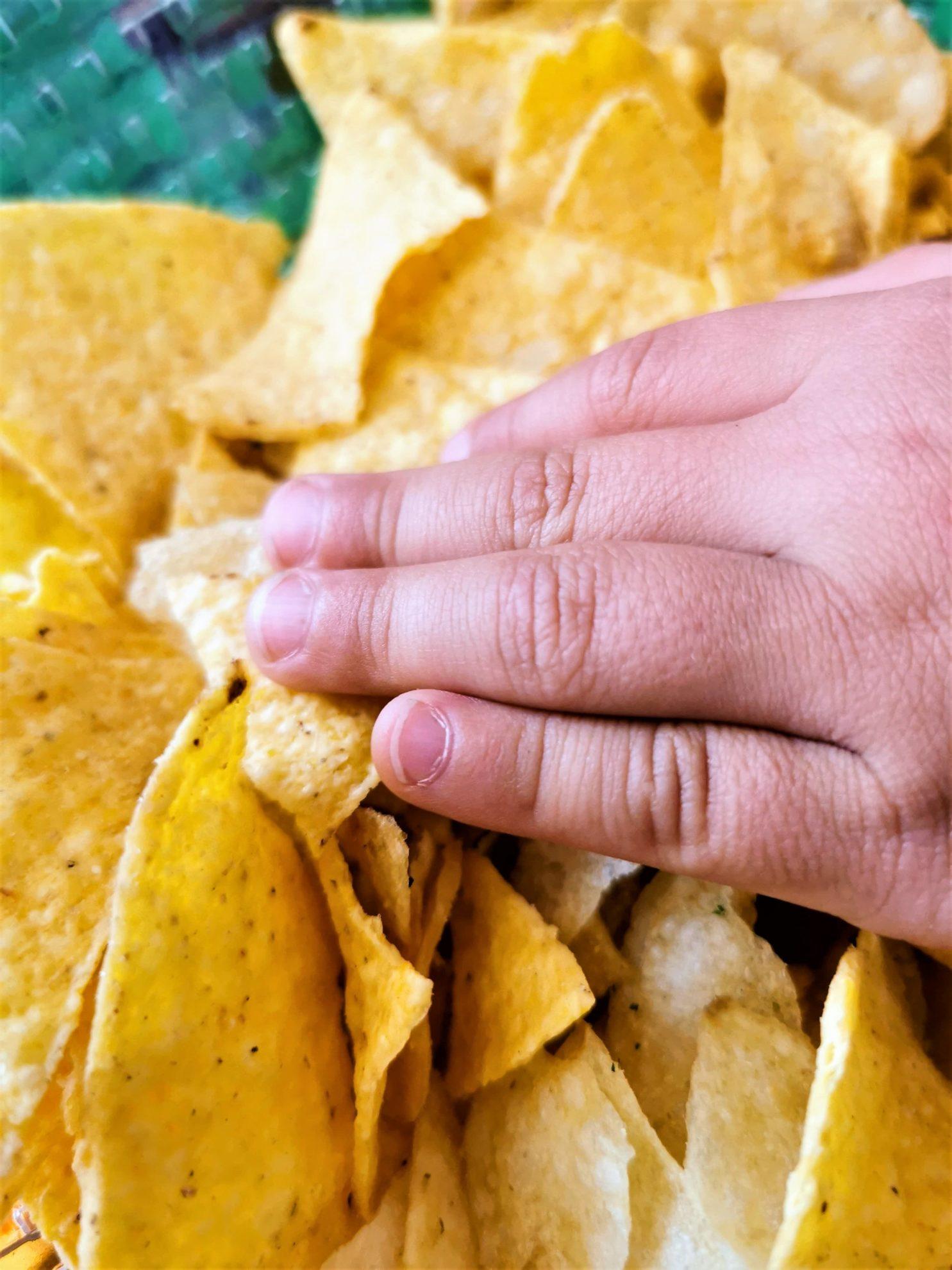 Tortilla Chips zum Mittagessen - ein Kindheitstraum wird wahr