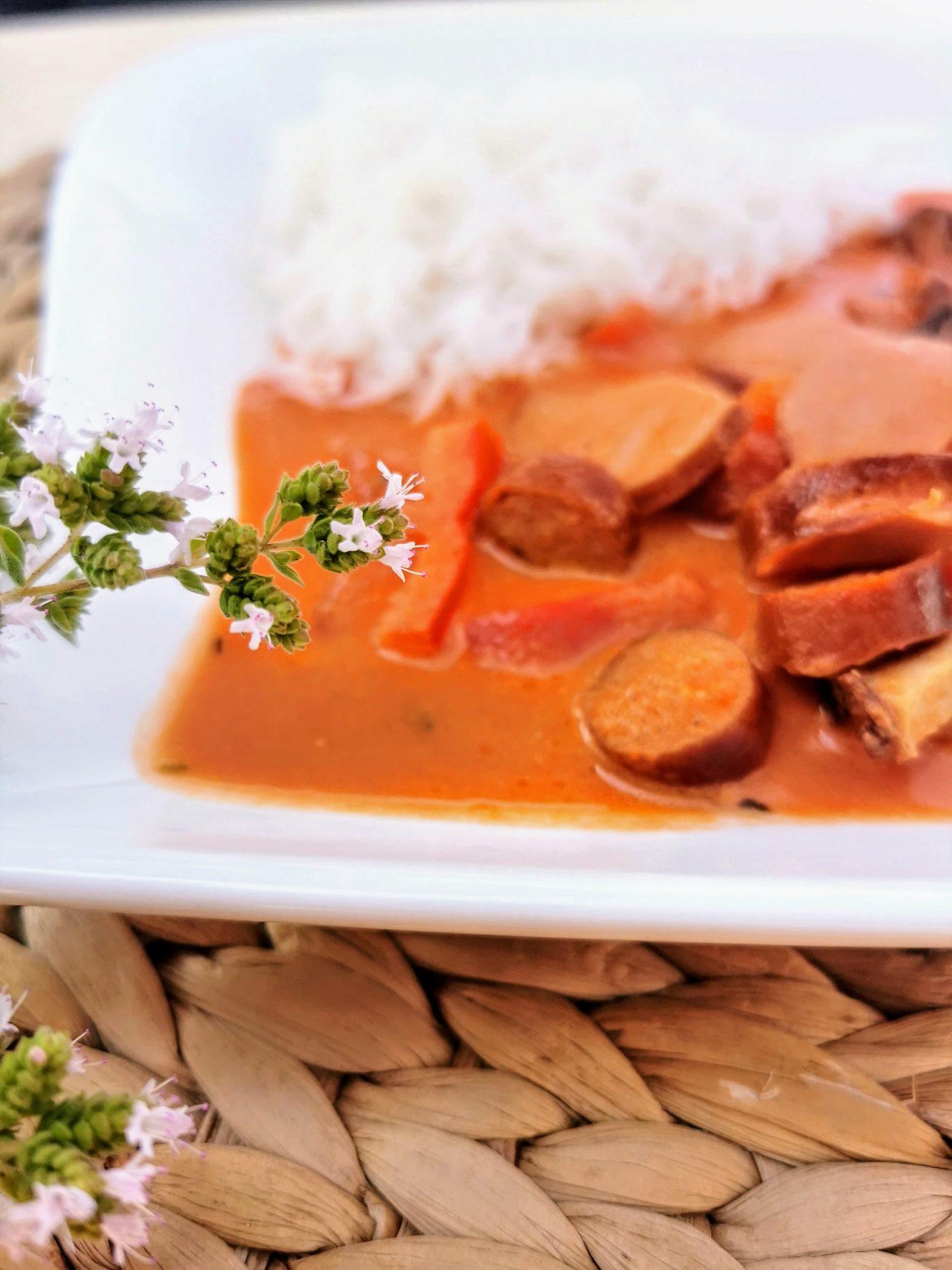 Würstchengulasch kochen - ein tolles Familienrezept