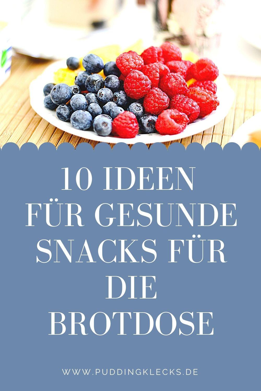 10 gesunde Ideen für die Brotdose, die Lust auf mehr machen. Mit diesen Tipps kommt die Brotdose nicht mehr unangetastet zurück. Versprochen! #snack #brotzeit #brot #pause #essen #gesund #lecker