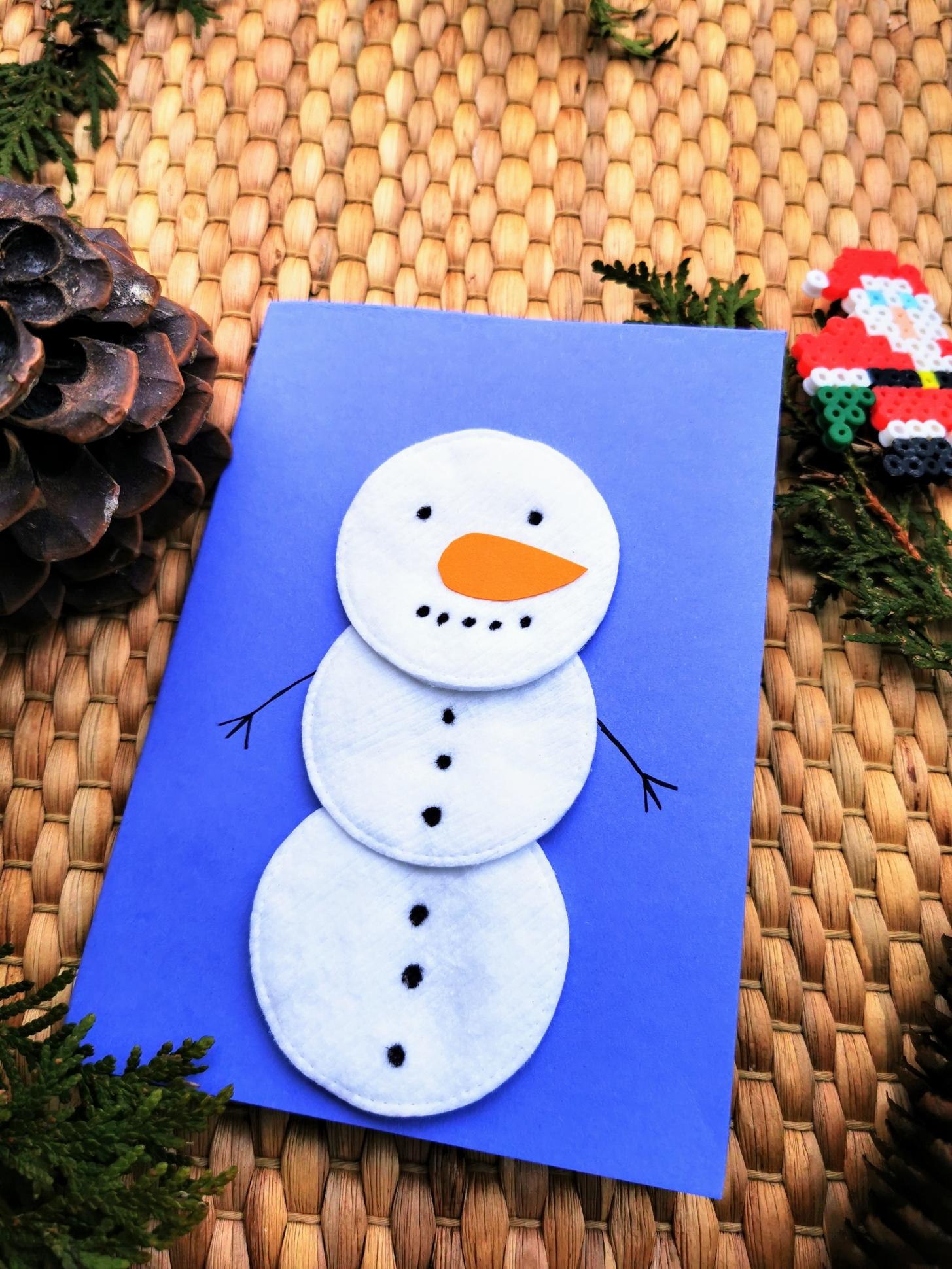 Mit Kindern Weihnachtskarten basteln   32 einfache Ideen ...