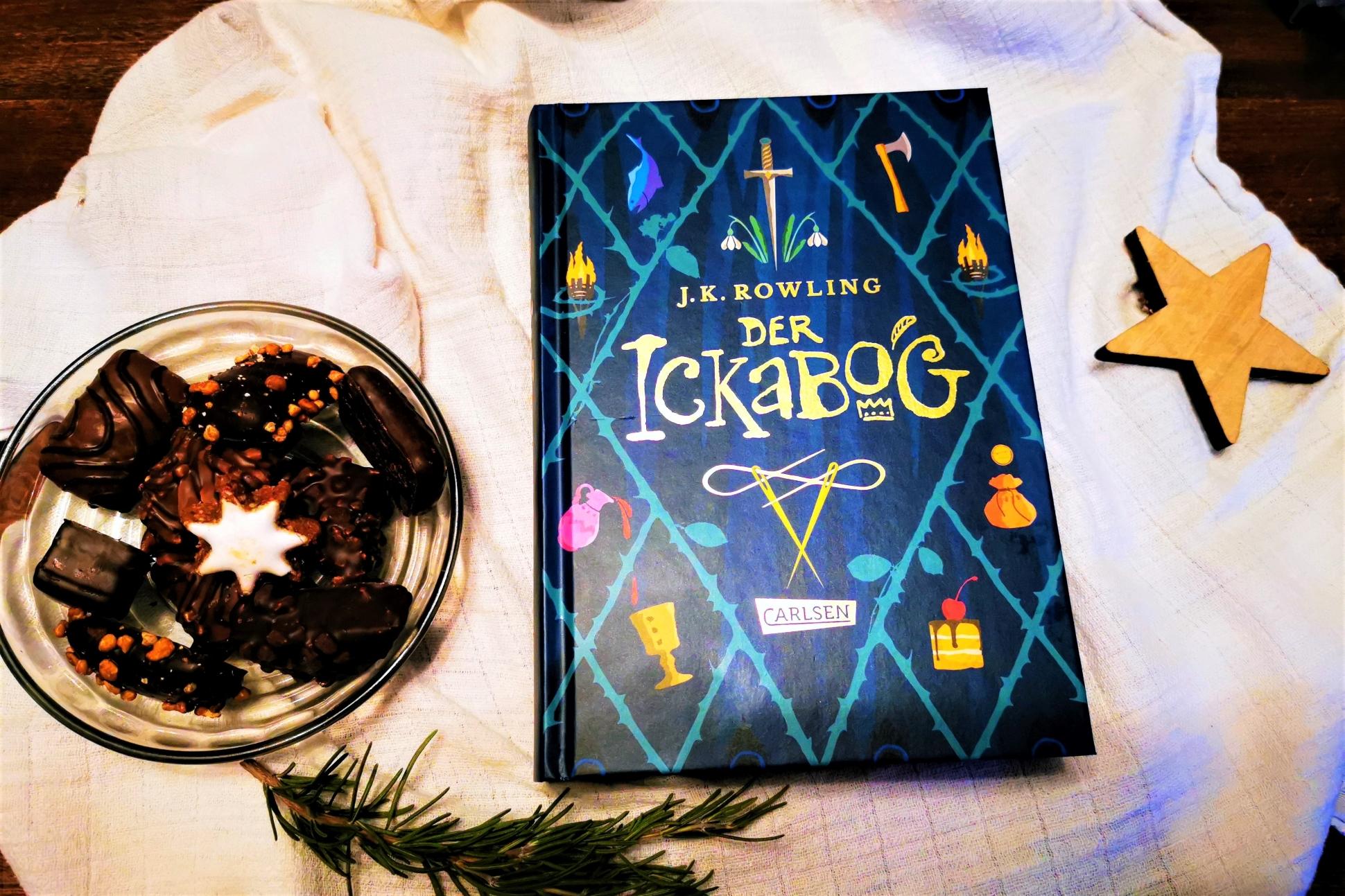 Der Ickabog von J.K. Rowling - ein märchenhaftes Buch über Verrat, Mord, Freundschaft und falsche Eitelkeit für Kinder ab etwa 9 Jahren.