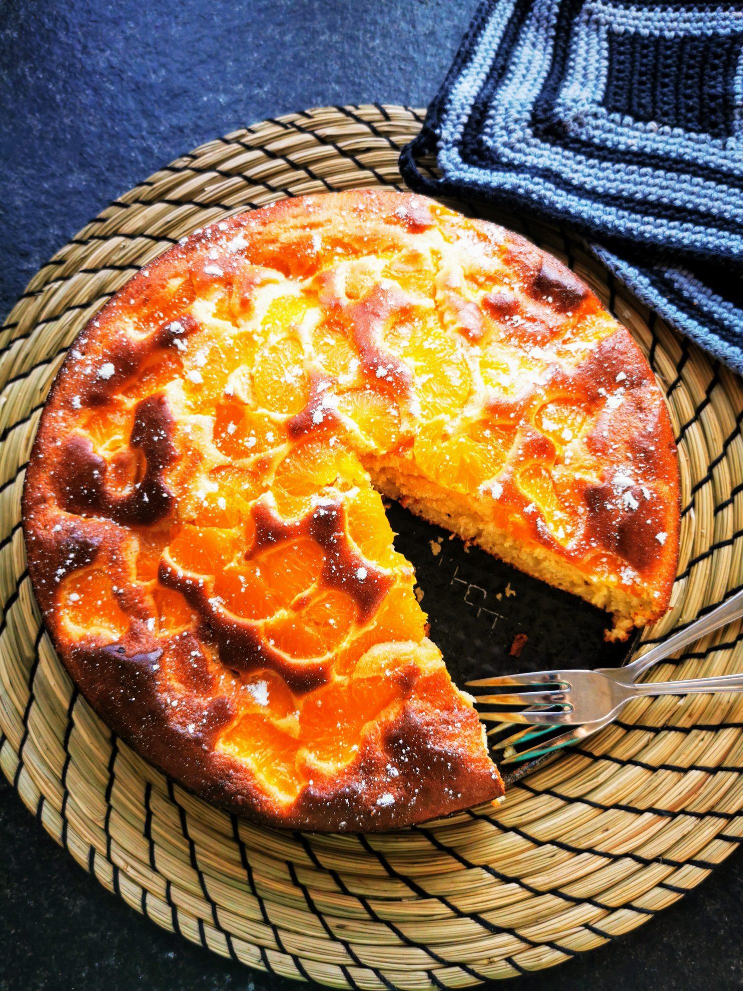 Mandarinenkuchen mit Quark