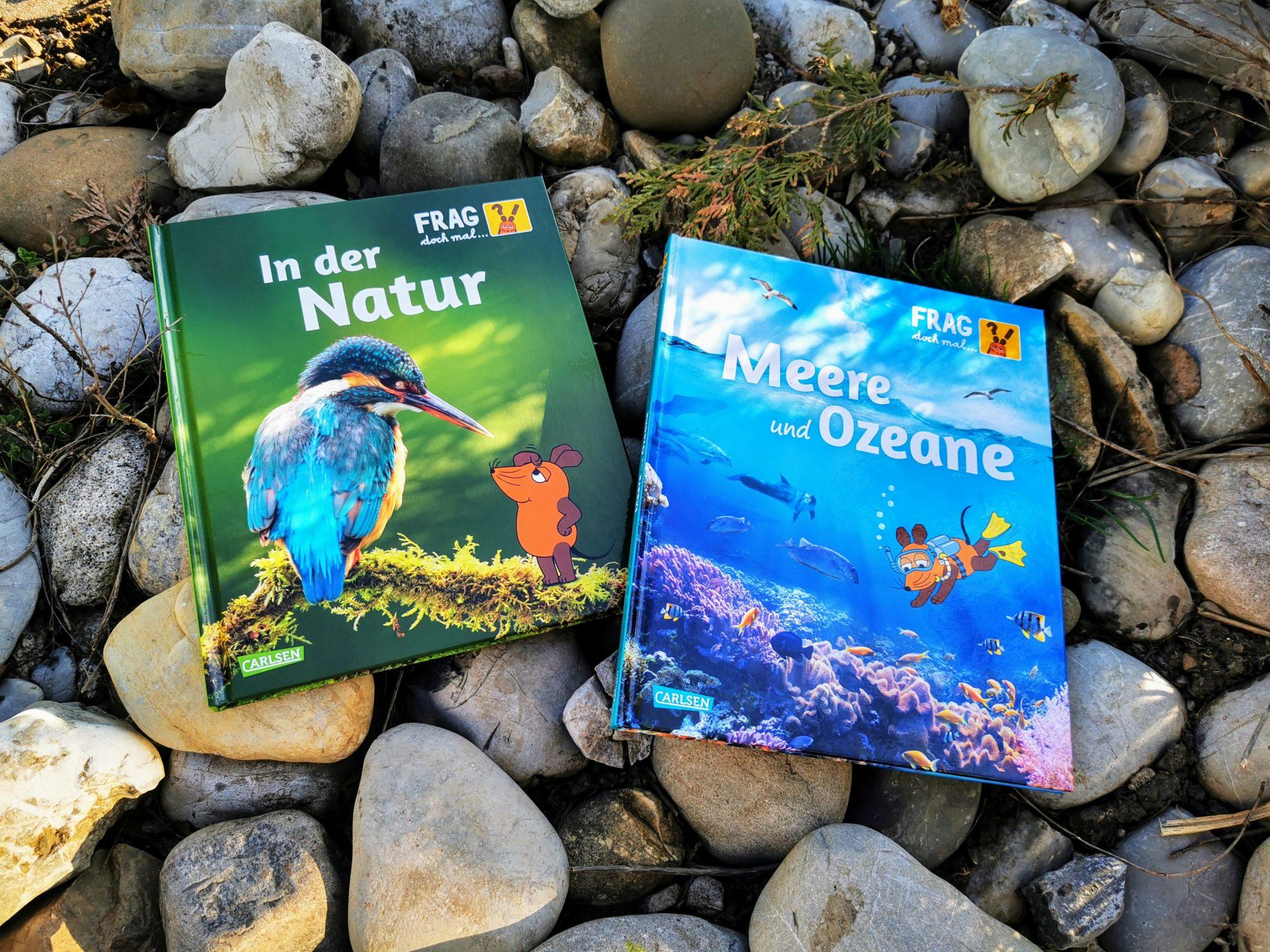 """""""In der Natur"""" und """"Meere und Ozeane"""" von Frag doch mal ... die Maus! Ein Kinderbuchtipp für Kinder ab etwa 8 Jahren"""