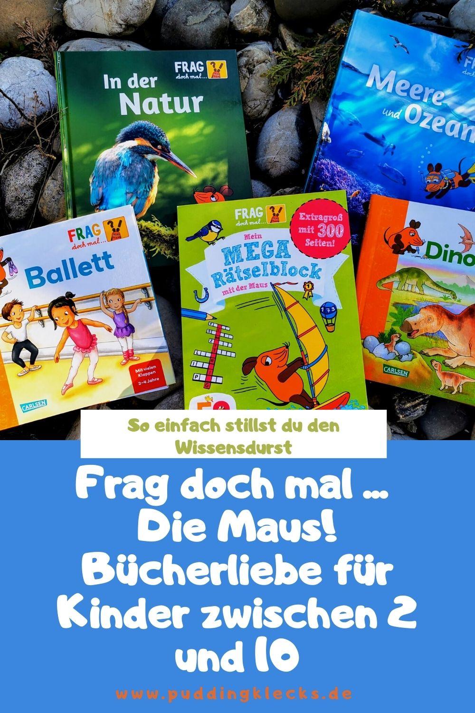 Frag doch mal die Maus ist eine tolle Buchreihe für wissensdurstige Kinder zwischen 2 und 10 Jahren, die uns Erwachsene auch einiges lehrt. Hier erfährst du erstaunliche Dinge über die Natur und Umwelt. #buchtipp #bücher #kinderbücher #lesetipp #lesen #vorlesen