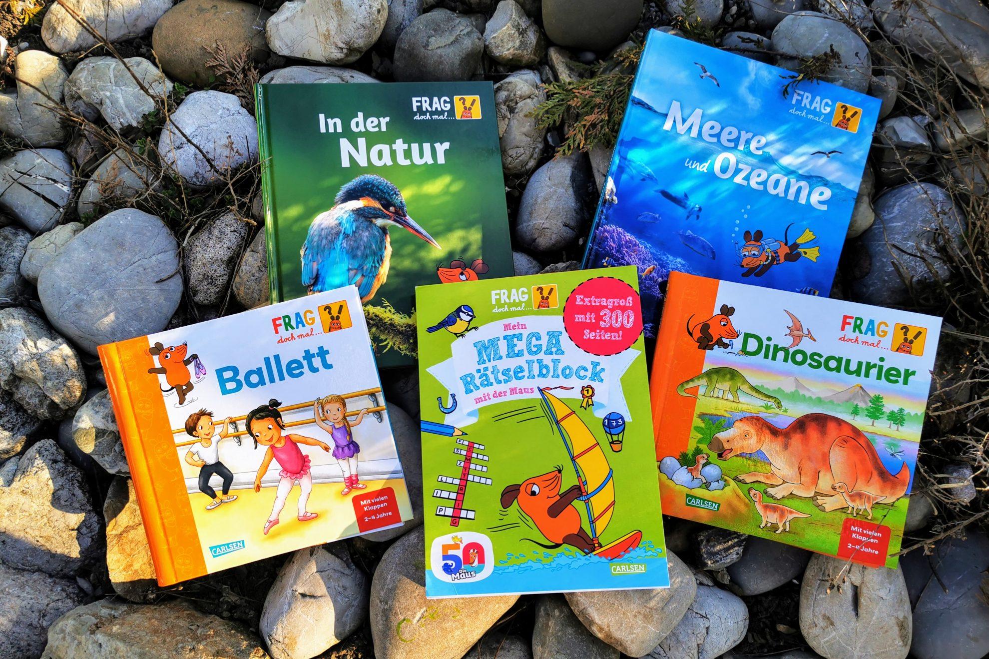 Frag doch mal die Maus ist eine tolle Buchreihe für wissensdurstige Kinder zwischen 2 und 10 Jahren, die uns Erwachsene auch einiges lehrt.