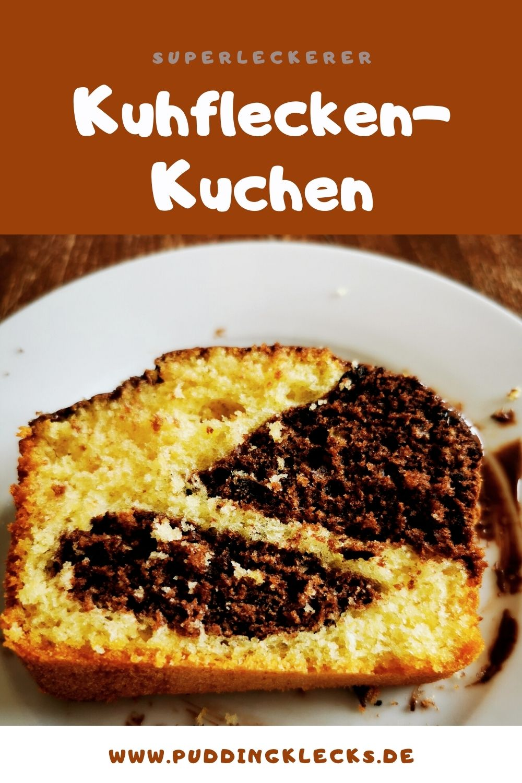 So einfach kannst du diesen Kuhflecken-Kuchen backen. Ein einfaches Rezept, das Freude macht. Ein super saftiger Kuchen für jede Gelegenheit! #kuchen #backen #backrezept #rezeptidee #backliebe #kastenkuchen