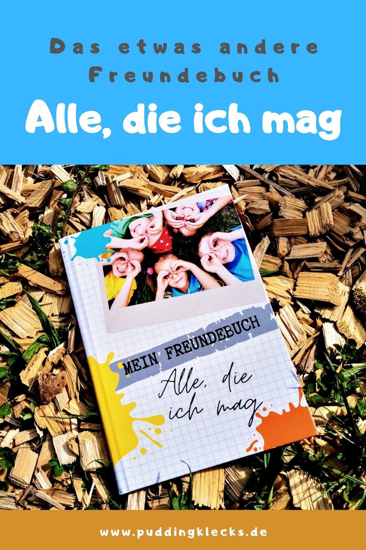 """Das etwas andere Freundebuch """"Alle, die ich mag"""" von Katharina stellt Fragen, in denen du wirklich etwas über deine Freunde erfährst.  Ein liebevoll gestaltetes Freundebuch für alle Freunde, die damit in Erinnerung bleiben #freundebuch #buch #kindergarten #grundschule #buchtipp #empfehlung"""