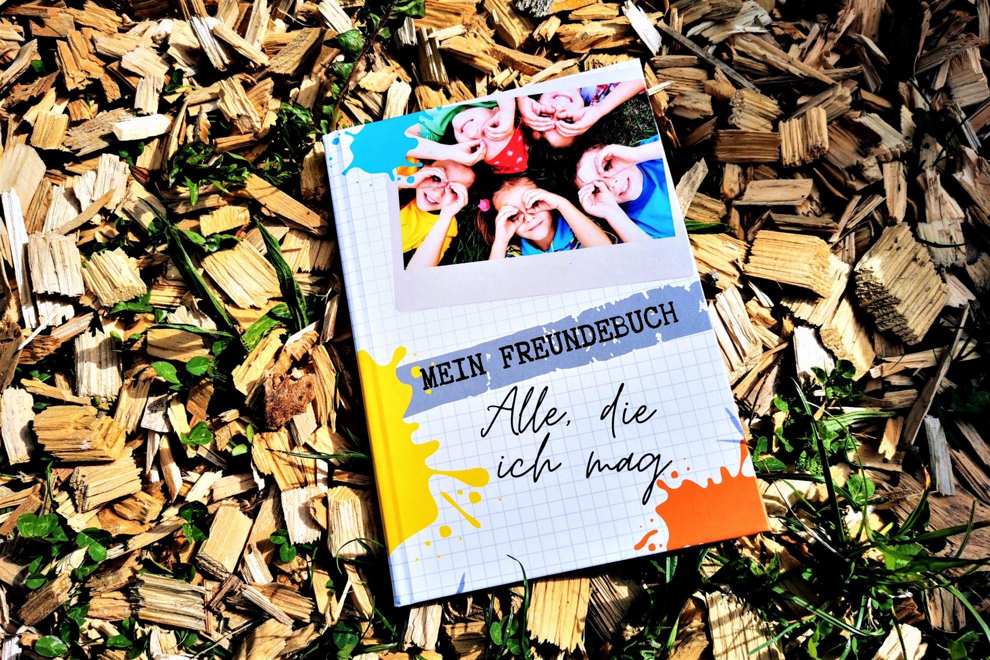 """Das etwas andere Freundebuch """"Alle, die ich mag"""" von Katharina stellt Fragen, in denen du wirklich etwas über deine Freunde erfährst."""