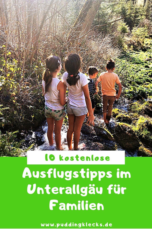 Du suchst nach tollen und kostenlosen Ausflugstipps im Unterallgäu? Dann bist du hier genau richtig. Hier findest du meine Top10 für Familien. #ausflug #tipps #tagesausflug #kinder #allgäu #unterallgäu #ausflugstipp #kostenlos