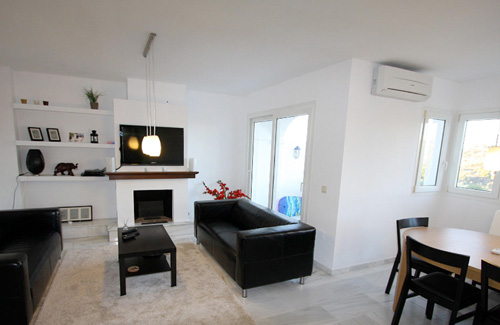 Appartement 1 - Woonkamer1
