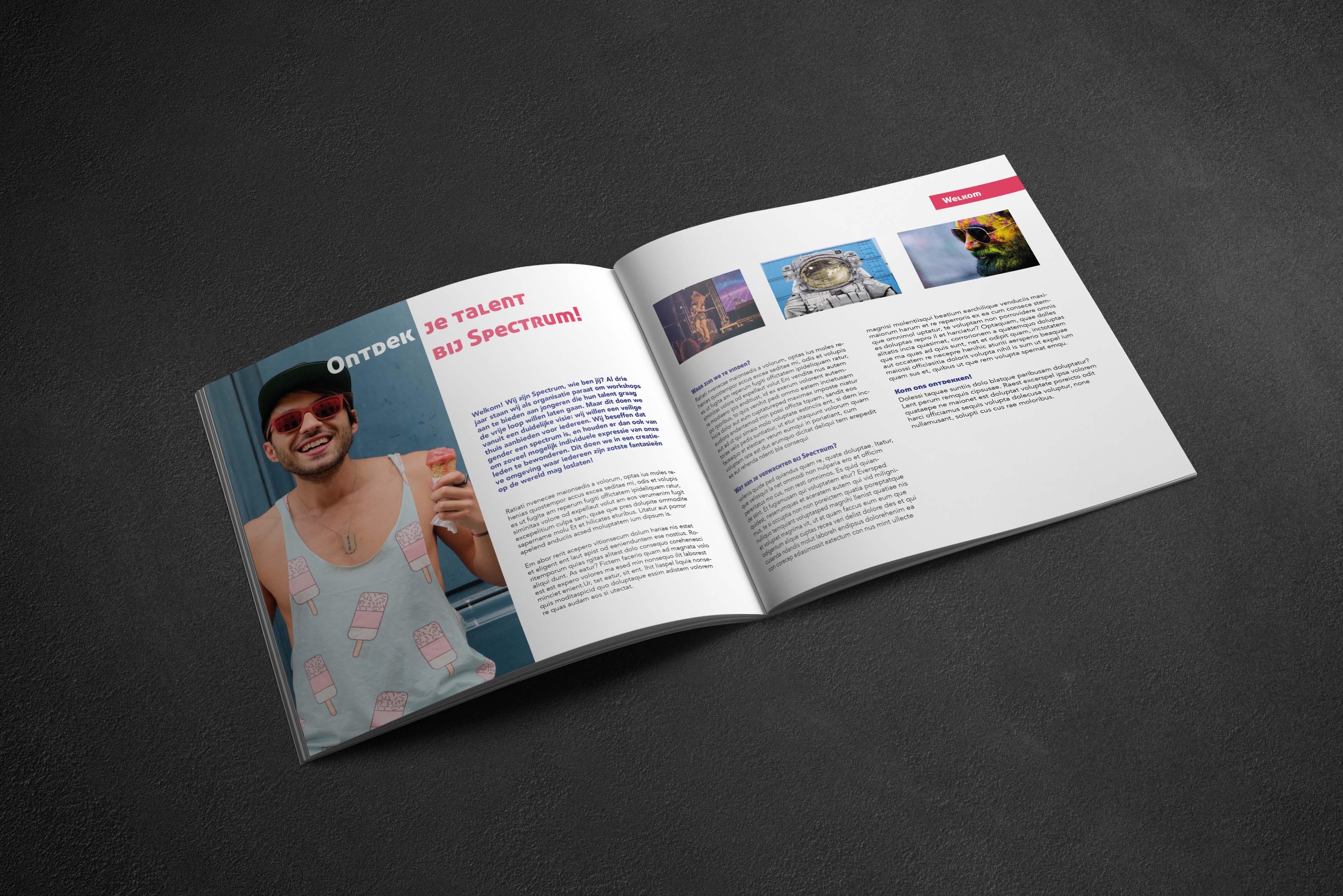 intro design brochure