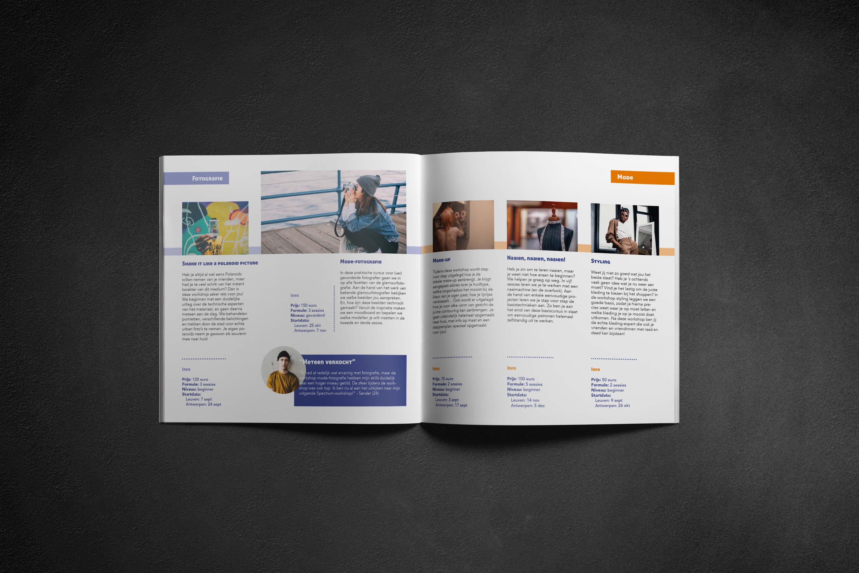 design brochure magazine