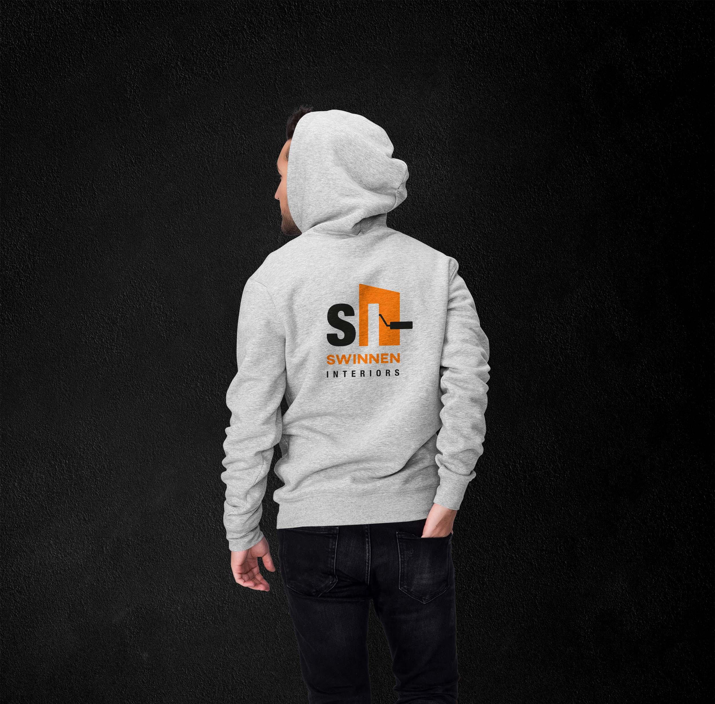 hoodie logo design Swinnen Interiors