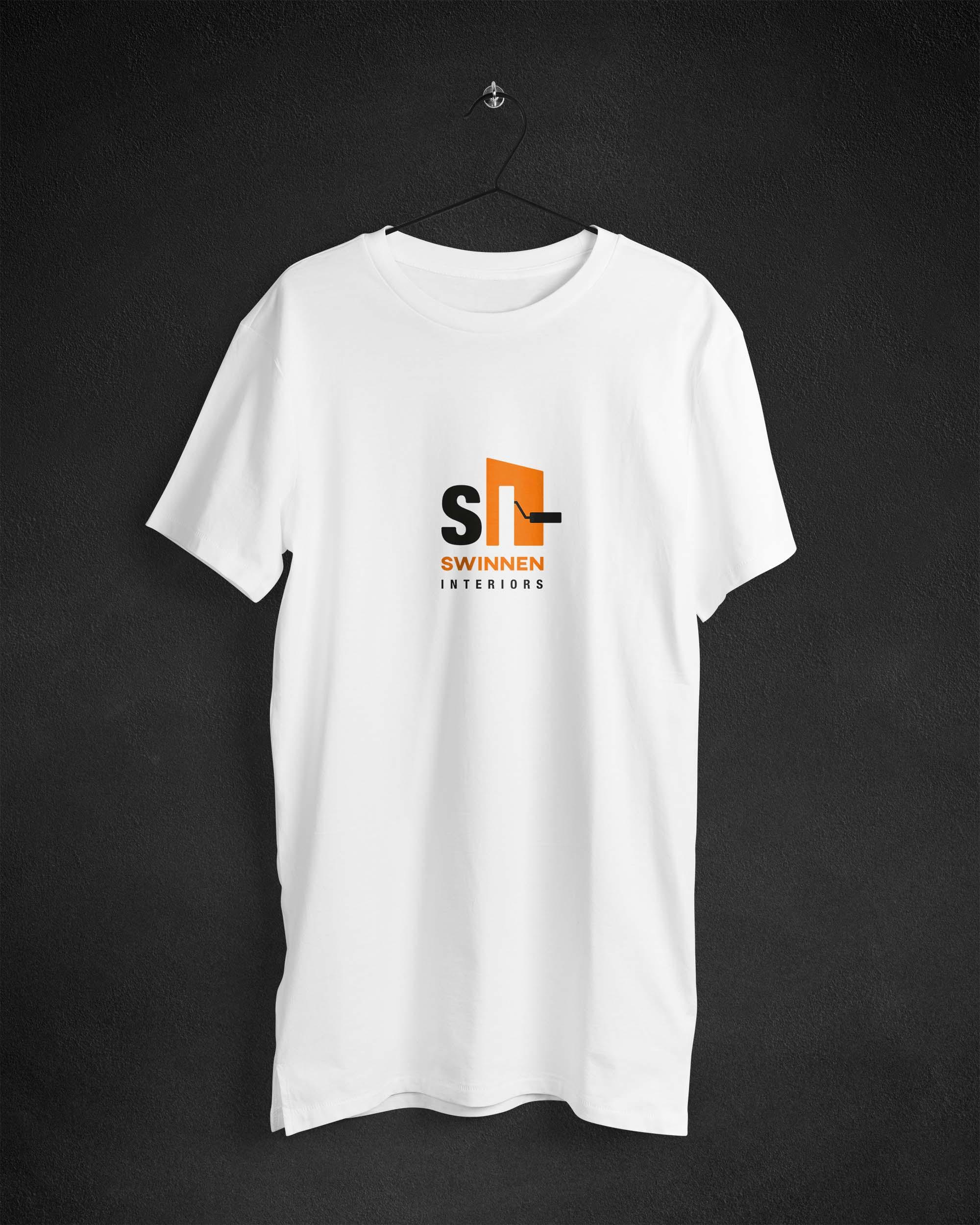 t-shirt design logo Swinnen Interiors
