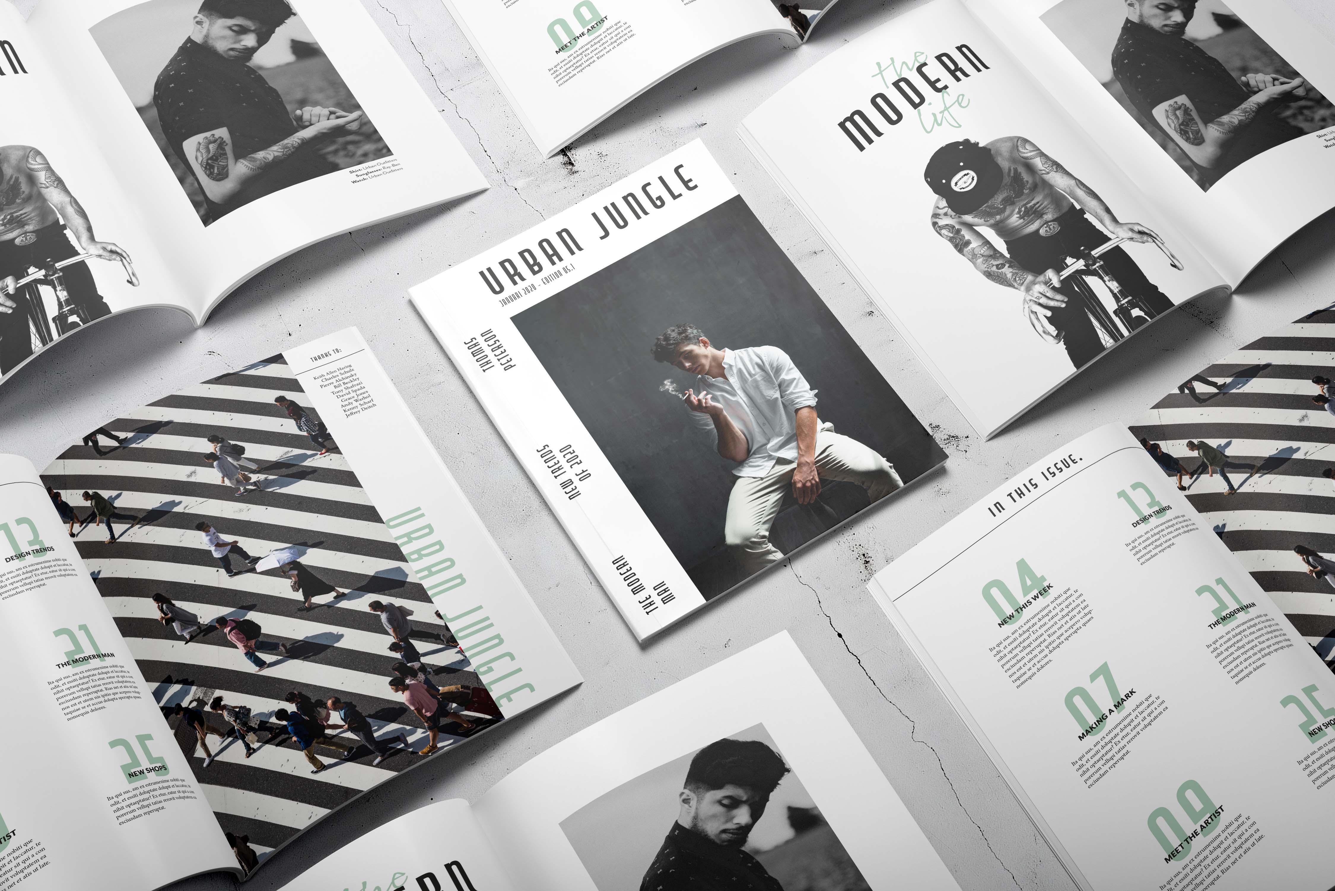 layout ontwerp magazine graphic design