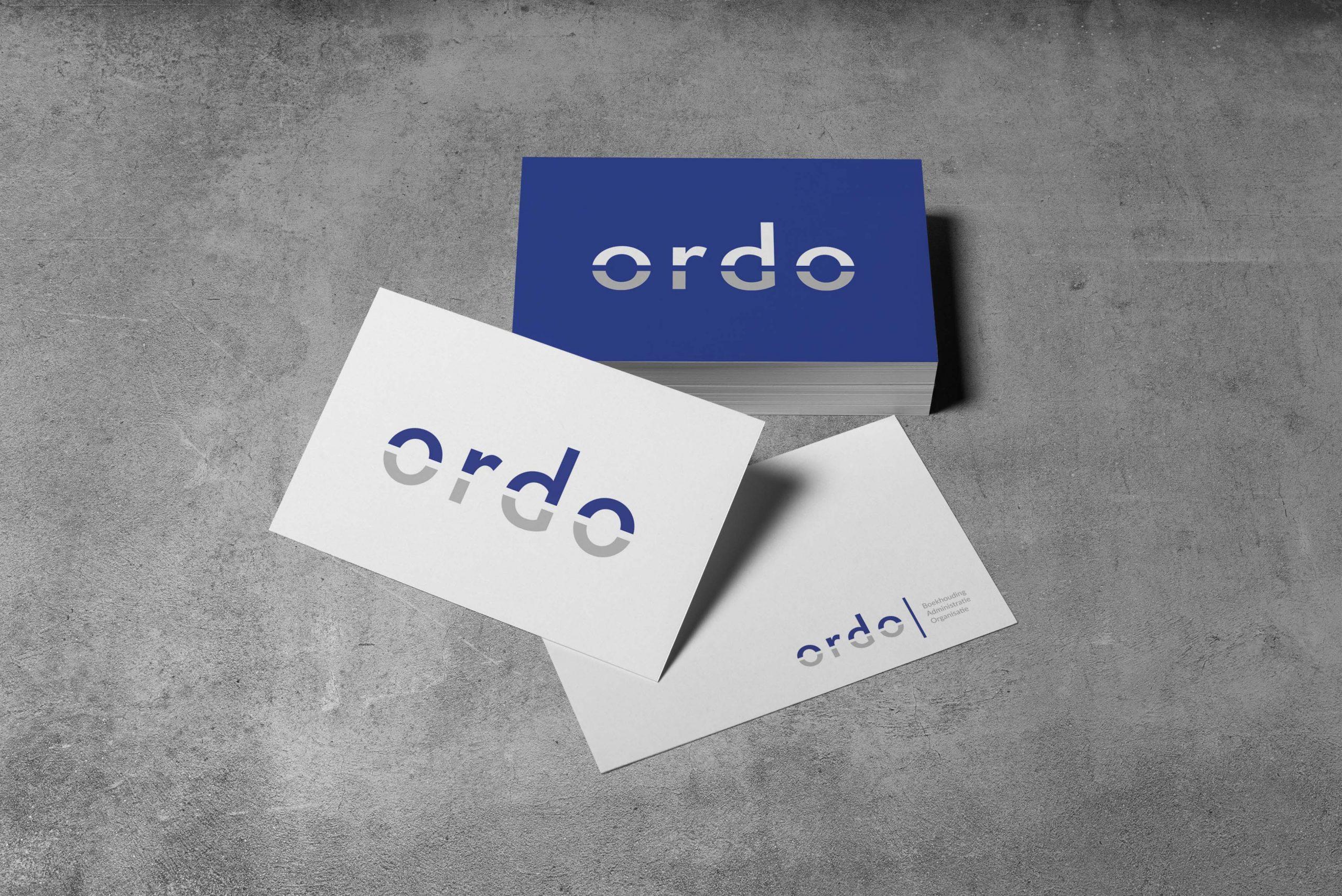 Design visitekaartje en logo Ordo