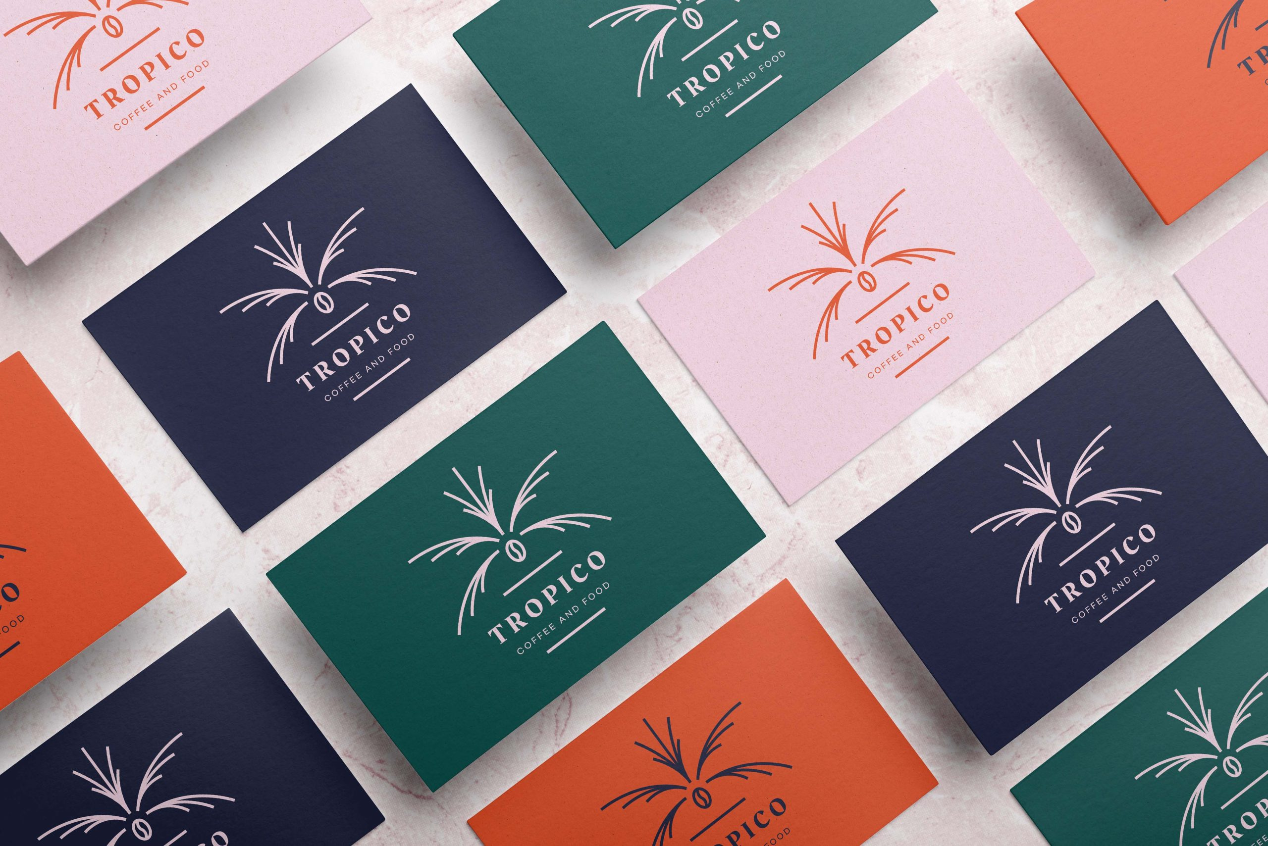design visitekaartje Tropico koffiebar