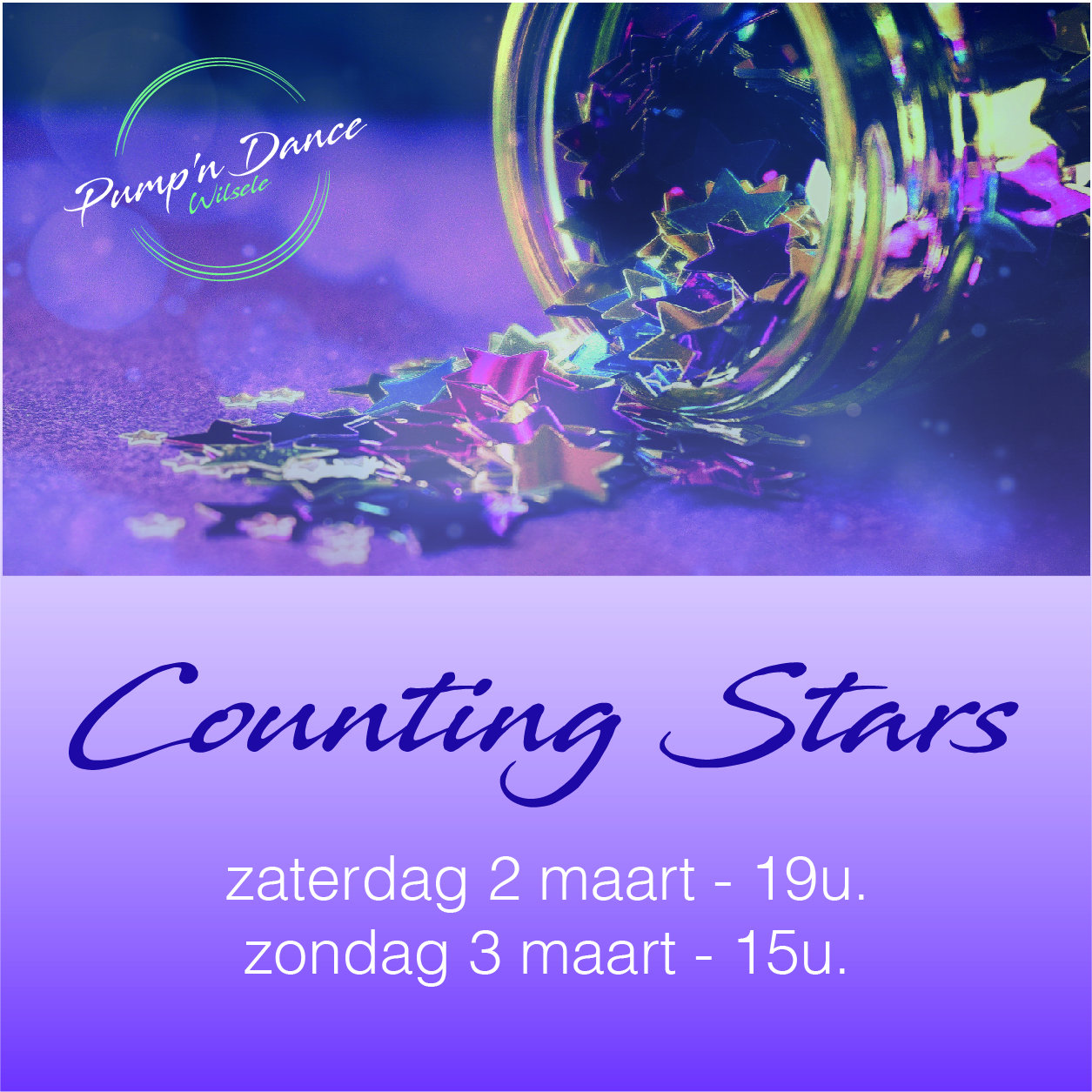 Tickets dansshow Counting Stars