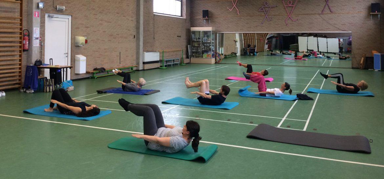 Nieuwe lessenreeks Pilates
