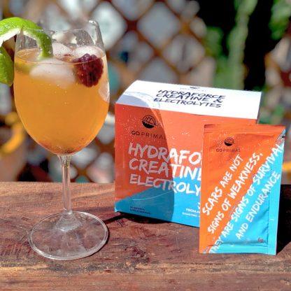 GoPrimal HydraForce drink