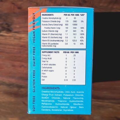 GoPrimal HydraForce næringsindhold