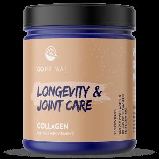 GoPrimal Collagen peptides with vitamin C