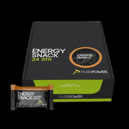 Purepower Energy Snack karamel Peanut kasse
