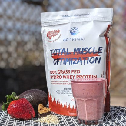 SoMe whey protein strawberry