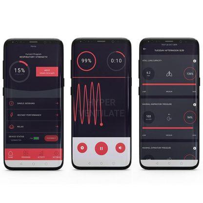 Airofit Breathing Trainer App