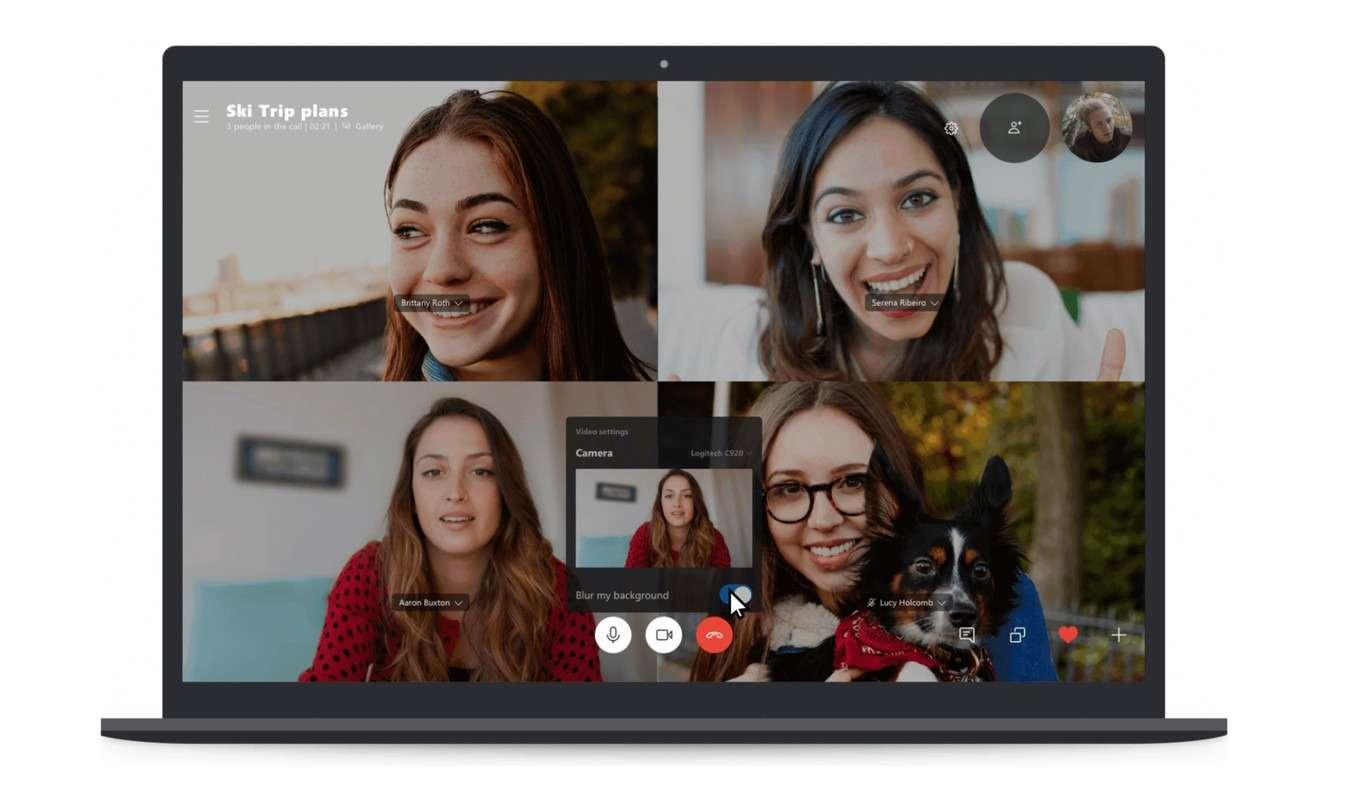 Función de desenfoque en Skype llega a todos los usuarios