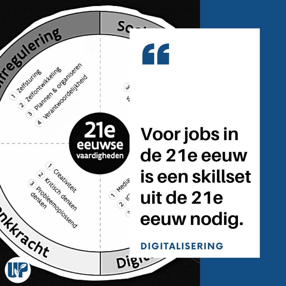 skillset om relevant te blijven op de arbeidsmarkt