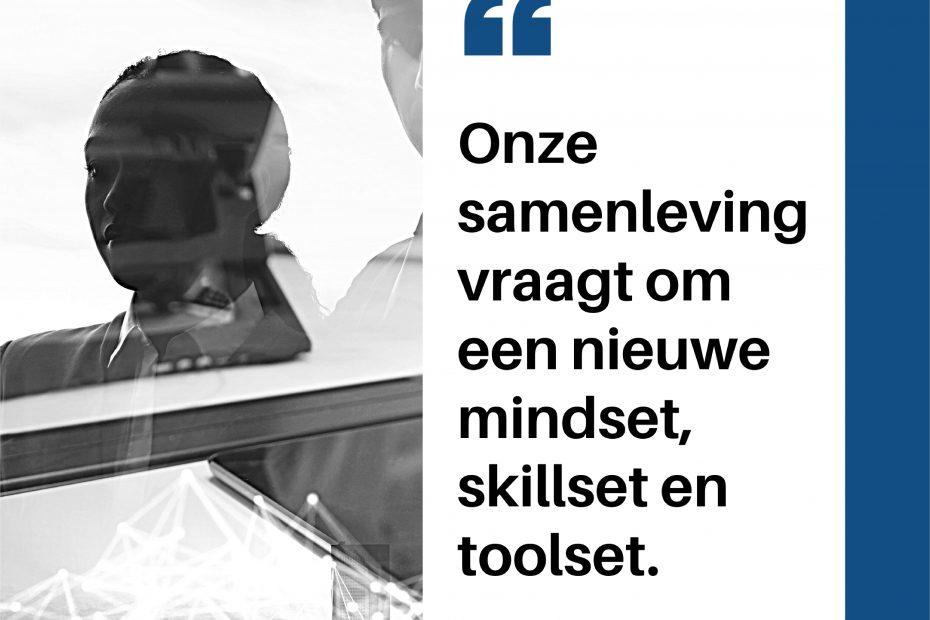 mindset skillset toolset om relevant te blijven op de arbeidsmarkt