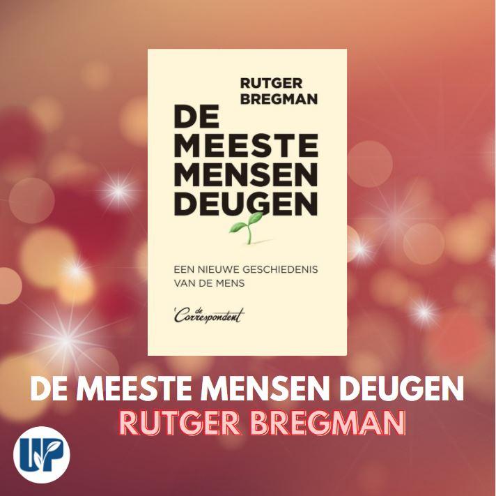 Boek De meeste mensen deugen van Bregman