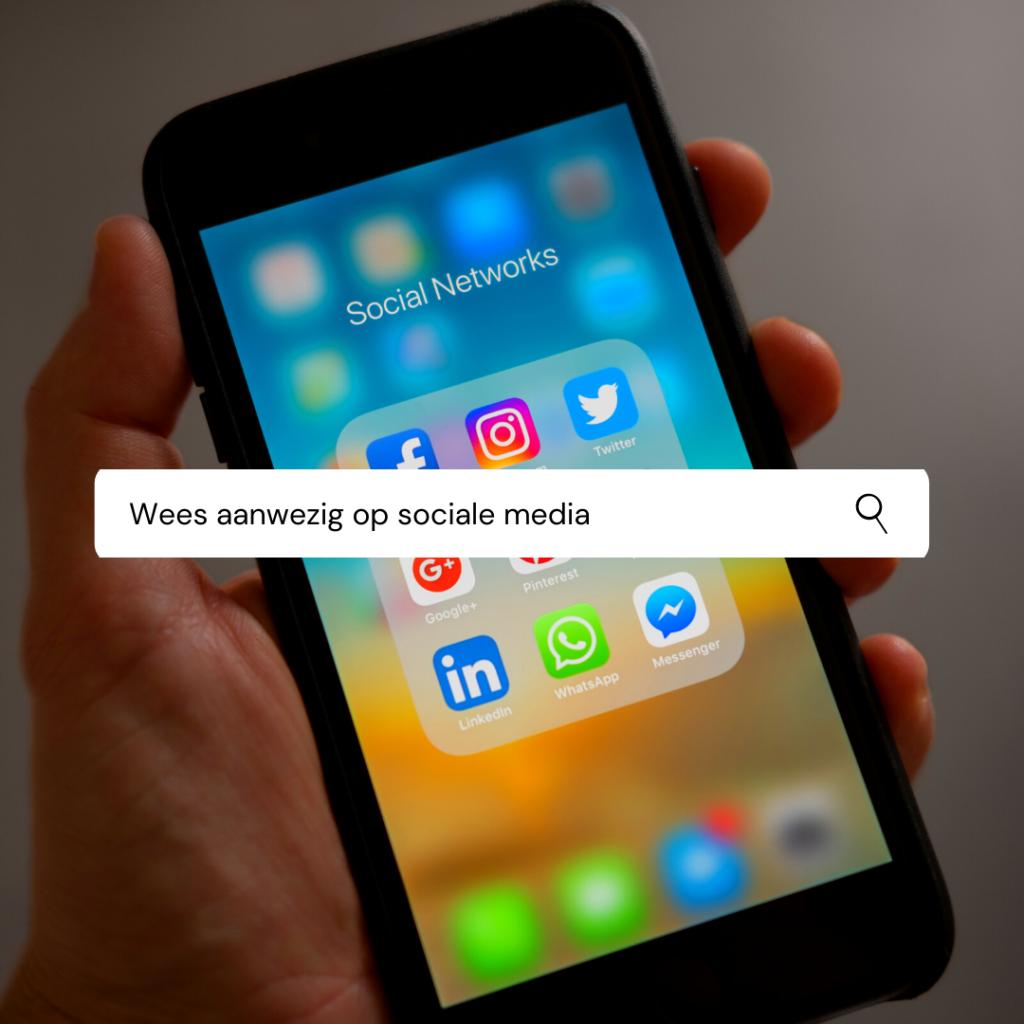 8 tips voor een succesvolle carrièreswitch - Wees aanwezig op sociale media