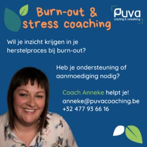 burn-out & stress coaching