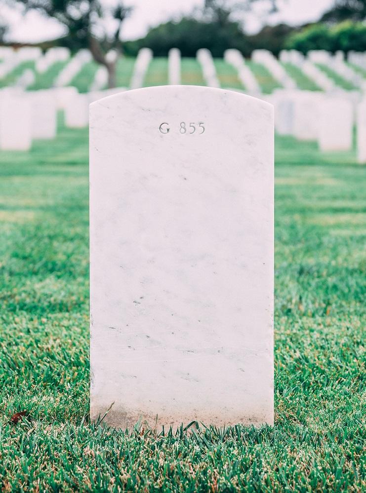 Islamitische begraafplaats - grafsteen