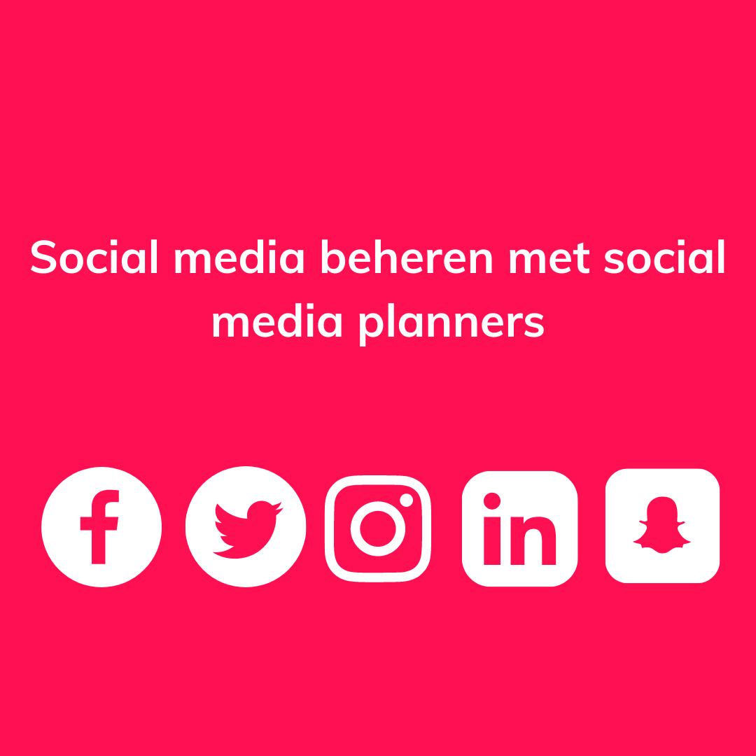 Qlikr social media planners