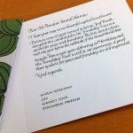kalligrafi, brev till president Obama