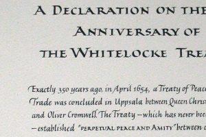 Fredfördrag, The British Embassy