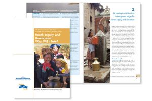 design, rapport Health dignity and Development