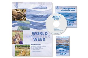 design, katalog, World Water Week paket