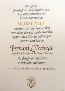 Nobelpris i kemi 2016