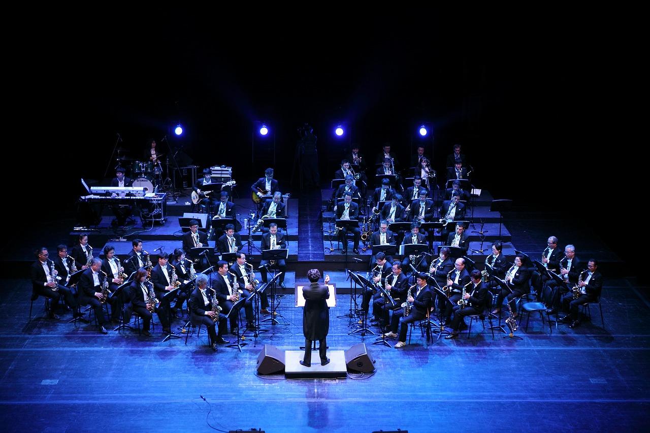 ensemble, music, played